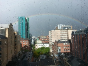 Rainbow Over Belfast