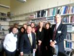 Senator Baclk with the Delegation.